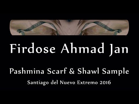 Pashmina Scarf & Shawl Sample