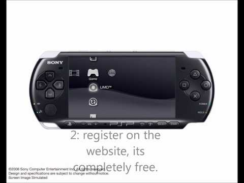 how to get a psp 3000 easy and fast