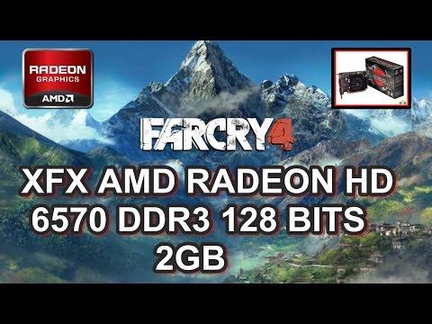 FAR CRY 4 na Placa de Vídeo RADEON HD 6570 DDR3 ( 2GB )