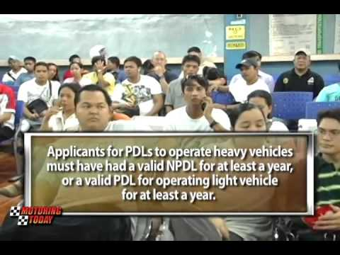 Motoring Forum on revised rules on pro and non pro licenses