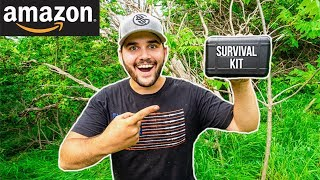 Testing CHEAP Amazon SURVIVAL KIT!!! (Only $25)