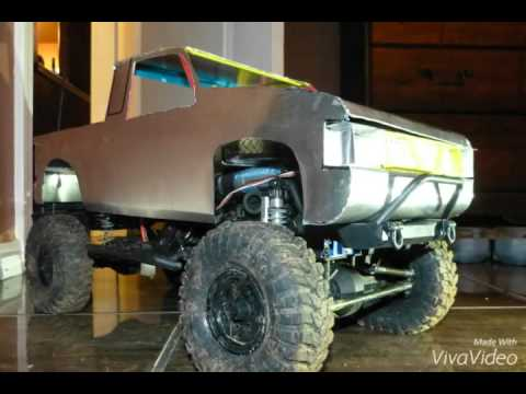 Homemade RC Body-Nissan Hardbody Crawler Pickup Tr