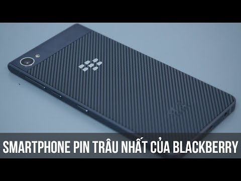 Mở hộp smartphone Chống nước - Pin khủng nhất của Blackberry - BlackBerry Motion