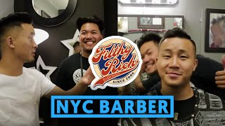ASIAN CELEBRITY BARBER IN NYC - Filthy Rich
