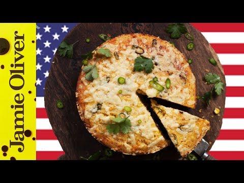 Chilli Cheese Cornbread | DJ BBQ