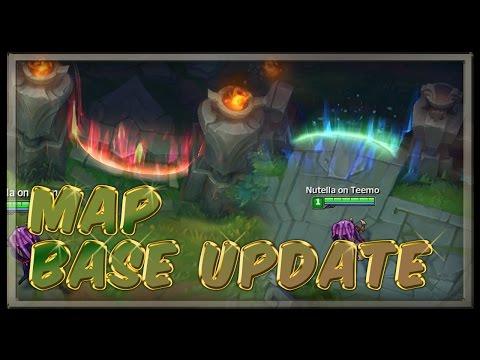 Summoner's Rift Base Entrance/Exit Changes - League of Legends PBE