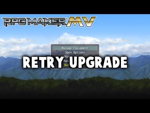 Retry Upgrade Plugin - RPG Maker MV