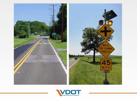 VDOT: Route 20 at Route 231 roundabout, Orange County