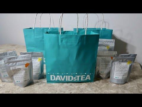 Davids Tea Haul | Healthy Iced Tea Gluten Free + Vegan