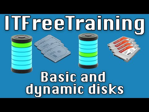 Combining Disks and Basic and Dynamic Disks