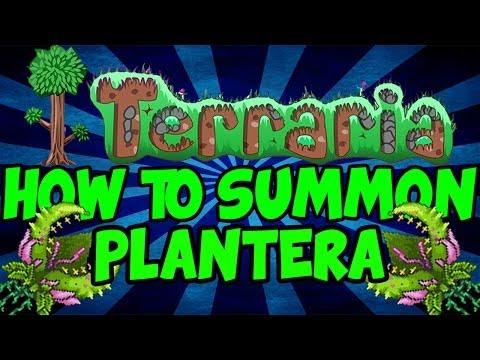 Terraria 1.2: How To Summon Plantera!