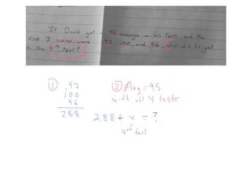Find missing number given average