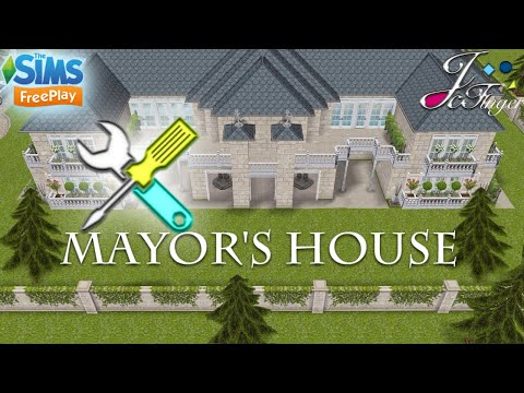The Sims FreePlay 🛠| LIVE BUILD ⚠️ | 🏛 MAYOR'S HOUSE 🏛.