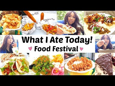 What I Eat In A Day Food Festival - Gluten +Dairy Free With Rosie! EP 14