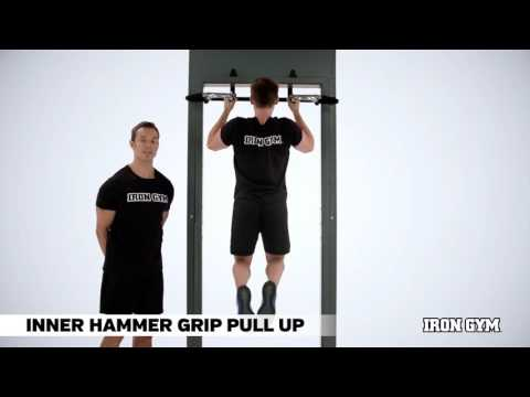 Inner Hammer Grip Pull Up - IRON GYM® Training Academy