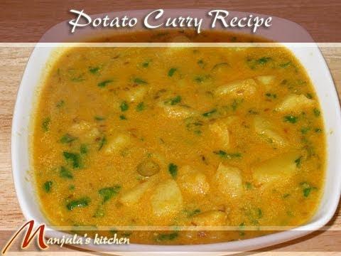 Potato Curry with Yogurt Gravy by Manjula