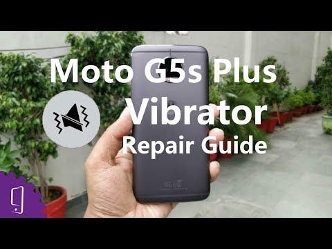 Moto G5s Plus Vibrator Repair Guide