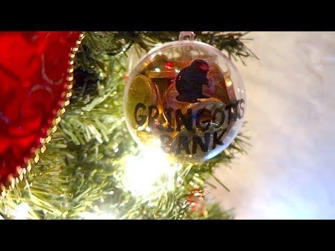 Gringotts Bank Harry Potter Ornament!
