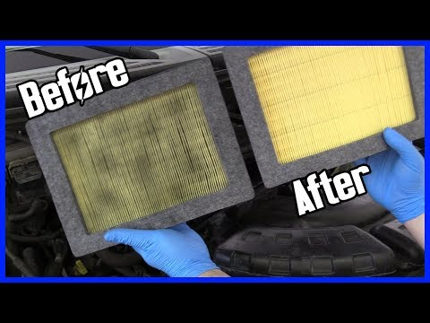 How to Replace the Air Filter Ford F-150 2004-2008 5.4L V8 | In About 1 Minute!
