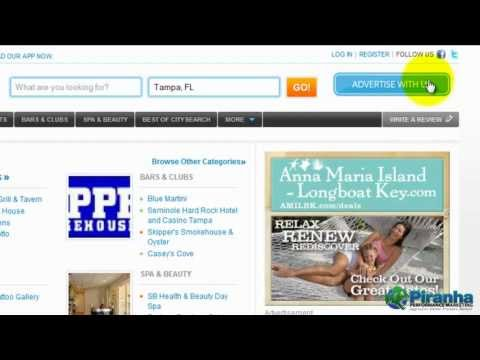 How to Setup a CitySearch Account