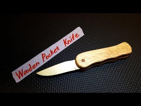 Wooden Pocket Knife
