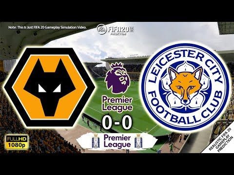 Wolves vs Leicester City 0-0 | Premier League 2019/20 | Matchday 26 | 14/2/2020 | FIFA 20 Simulation