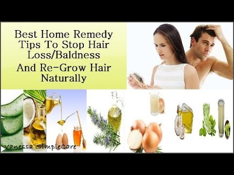 How To Stop Hair Loss/Baldness And Regrow Hair Naturally: Top 13 Best Home Remedies