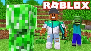 MINECRAFT IN ROBLOX?!