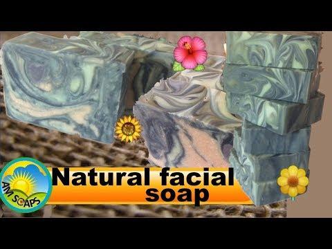 Natural facial soap