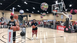CRAZY 3 PT CONTEST vs YOUTUBERS! (5,000+ people watching!)