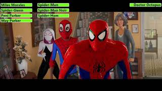 Spider-Man: Into the Spider-Verse (2018) House Fight with healthbars (30K Subscriber Special)