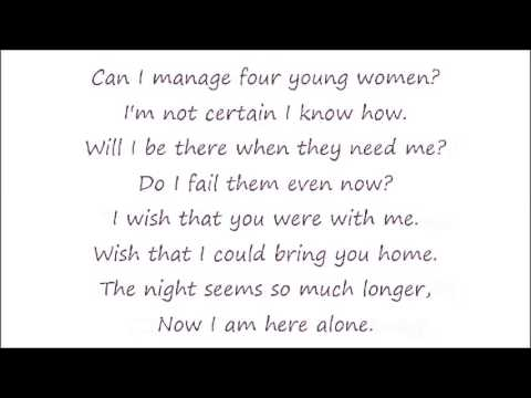 Little Women Broadway-5-Here Alone (Lyrics)