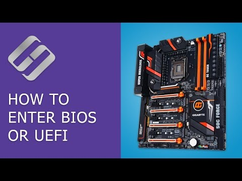 How to Enter BIOS or UEFI in a Computer or Laptop and Boot from a Flash Drive or a CD, DVD 💽🛠️💻