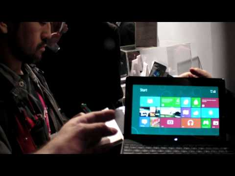 Asus Tablet 600 with Windows 8 RT on ARM Tegra3