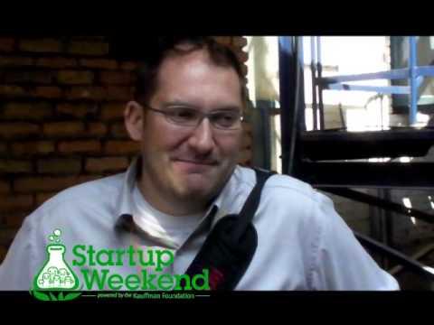 Mark Sears from Cloud Factory talking abt Startup Weekend Kathmandu