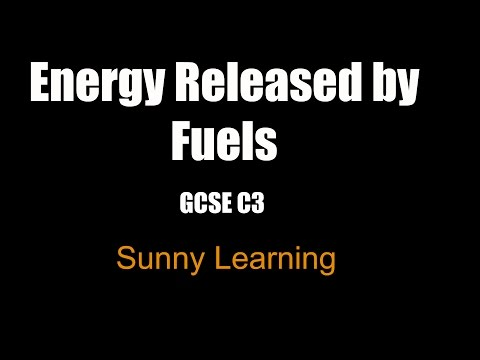 Energy Released By Fuels - GCSE Chemistry AQA