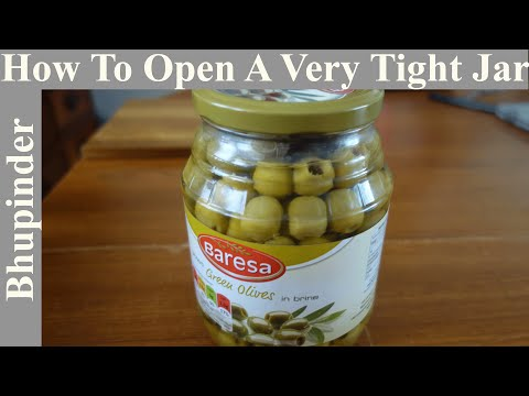 How To Open A Very Tight Jar!
