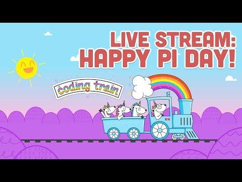 Live Stream #126.1: Happy Pi Day!