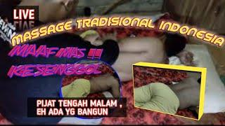 #massage #urutperut #pijatpria 🔴URUT TENGAH MALAM