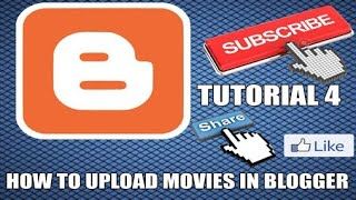Download How to upload movies in blogger TUTORIAL 4 Video
