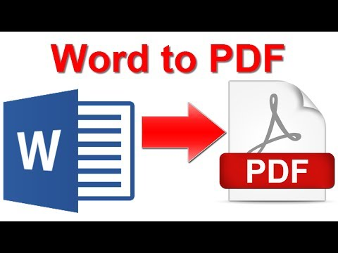 Convert MS Word Document into PDF | Comprehensive Guide