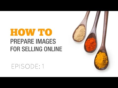 How to edit images for selling online - Stock Images