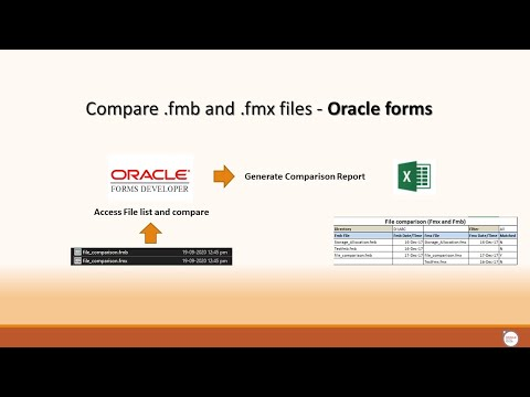 Compare .fmb and .fmx files - Oracle forms