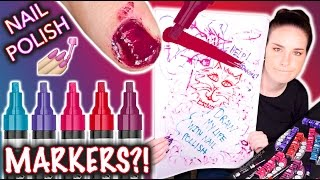 Nail Polish MARKERS?! Don