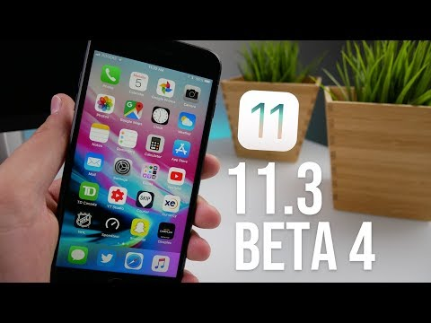 iOS 11.3 Beta 4 Released! What's New?