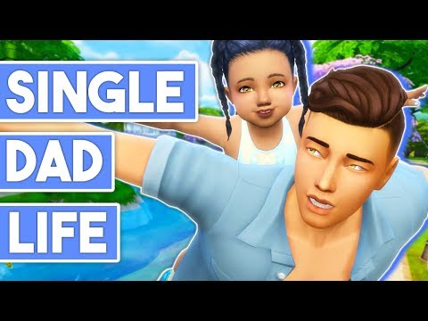 TODDLER PARK WITH DADDY & GRANDMA👨👵 // THE SIMS 4 | SINGLE DAD LIFE #4