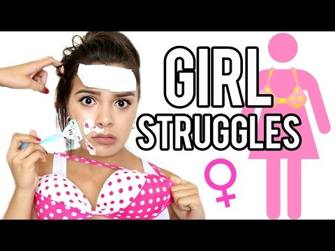17 GIRL STRUGGLES Every Girl Can Relate To!   NataliesOutlet