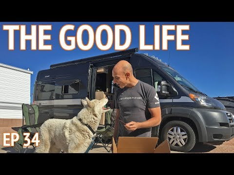 Retirement Life at an RV Resort in Mesa Arizona   EP 34 Camper Van Life