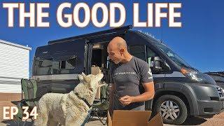 Retirement Life at an RV Resort in Mesa Arizona | EP 34 Camper Van Life
