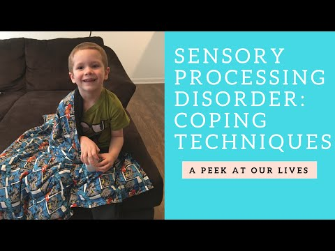 Sensory Processing Disorder || Coping Techniques for Kids